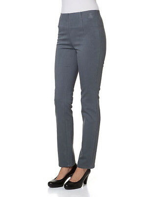 """8.1099 Thermo-Jeans """"Flausch"""", """"grau"""" Gr. 40"""