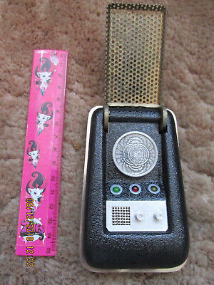 Original Star Trek Communicator Robust Kirk Spok Enterprise Roddenberry  Larp