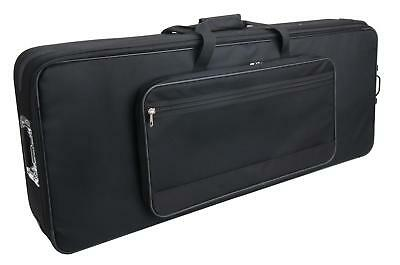 KEYBOARD PIANO TASCHE ROLLEN HARD TROLLEY CASE KOFFER CARRY GIG BAG 110x43x15 CM