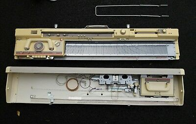 Brother Knitting Machine Package KH 891 +  Ribber (in need of repair ?)
