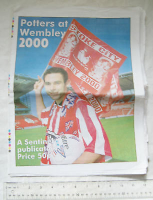 2000 Evening Sentinel, Potters at Wembley, Stoke City