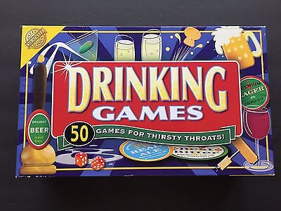 NEW Cheatwell Drinking Games 50 Games For Thirsty Throats 2+ Adult Players