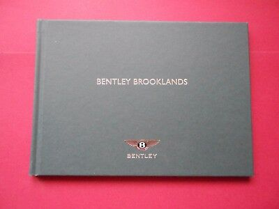 Bentley Brooklands Press Kit 2007 Hardback Book + CD Rom