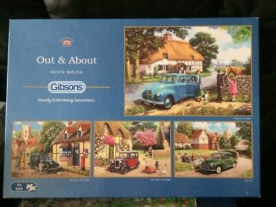 Out & About By Kevin Walsh  from Gibsons 3 x 500 Piece Jigsaw Puzzles