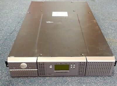 Dell Powervault TL2000 Tape Library Back-Up No LTO Tape Drive