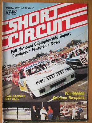 Short Circuit magazine October 1991 Stock Car Hot Rod John Calladine Chris Studd