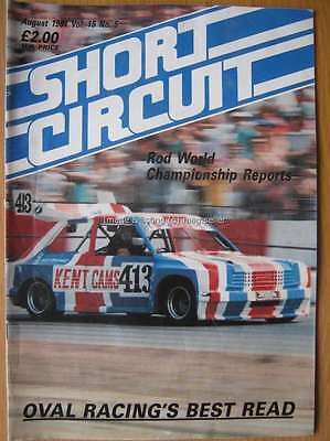 Short Circuit magazine August 1991 Stock Car Hot Rod World John Devonshire