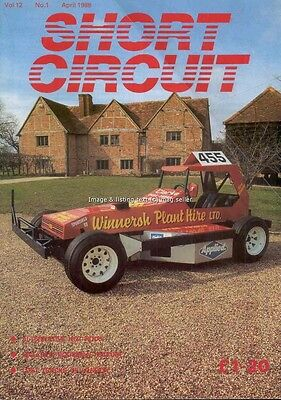 Short Circuit magazine April 1988 Stock Car Hot Rod