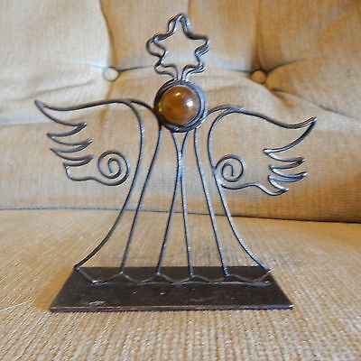 Metal Abstract Angel - Card Holder? / Photo Holder?