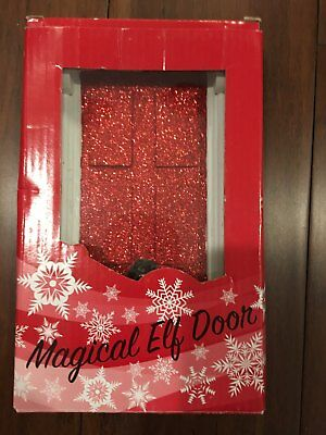 Nib Magical Elf Door..just In Time For Christmas