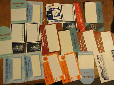 GB hotel labels  collection