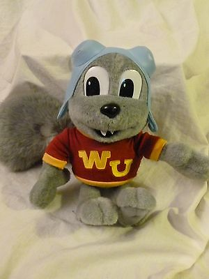 """Rocky the Squirrel Talking Plush with WU on Shirt & Flying Head Gear 11"""" Tall"""