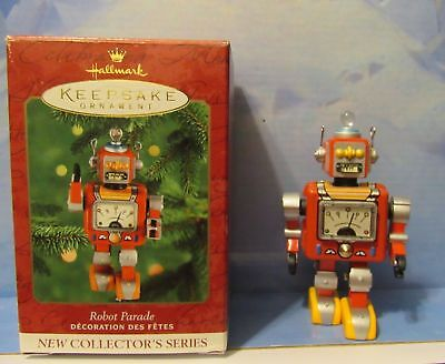 Hallmark Robot Parade Tin 1st In Series Keepsake Collectible Ornament 2000