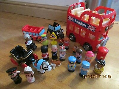 ELC Happyland Bundle, Royal Wedding, London Bus, Taxi etc! Wow!