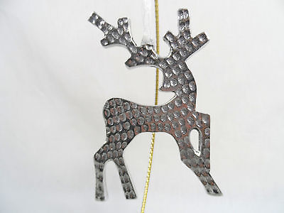 Silver Deer Christmas Tree Ornament new holidays winter decorations