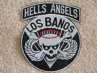 Hells Angels Patch Los Banos US Army 503rd Airborne Infantry Regt.Skull Kutte MC