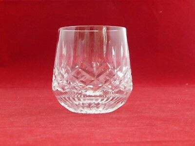 Waterford Roly Poly Glass Lismore Pattern. 3 1/2 Inches Tall.