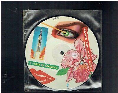 Flock Of Seagulls Space Age Love Song 45 Picture Disc 1982