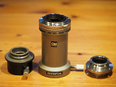 OLYMPUS OM-Mount Photomicro Adapter L + Eyepiece Adapter PM-ADF + Univ. Adapter