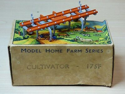 Vintage W Britain 175F Cultivator Model Home Farm Series in Duck & eggs type box
