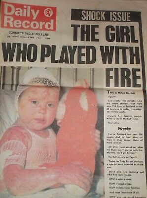 Daily Record October 8Th 1973