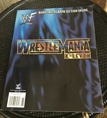 2001 Wrestlemania X-7   Wwf Magazine Special Collectors Issue