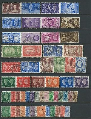 Collection of good used GVI GB stamps, several sets.