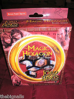 Lord of the Rings Magic Hexagon Boxed NEW