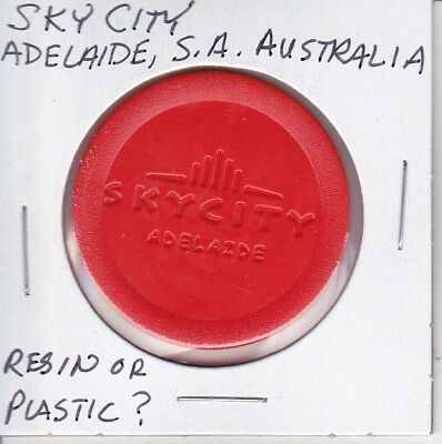 Casino Chip Token $.25 Fract. Sky City - Adelaide, S.a., Australia Resin Mold?