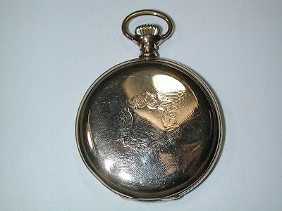 American 16 size YGF Hunting Pocket Watch Case. 90M