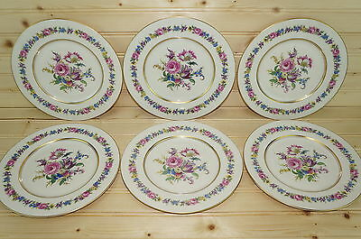 Castleton Manor (6)  Salad Plates 8 3/8""