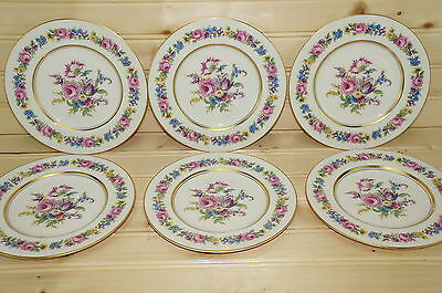 Castleton Manor (6) Bread & Butter Plates 6 3/8""