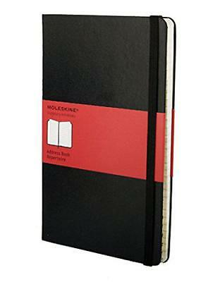 Moleskine Large Address Book,  -  - NEW