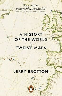 NEW A History Of The World In Twelve Maps by Jerry Brotton BOOK (Paperback)
