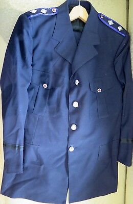 .vintage / Obsolete Ambulance Ranked Dress Jacket. 2 Shoulder Pips.