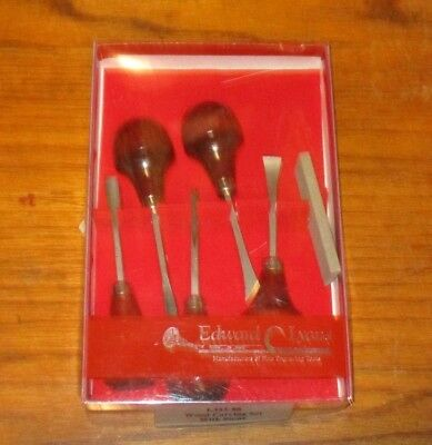 Edward Lyons Wood Carving Set