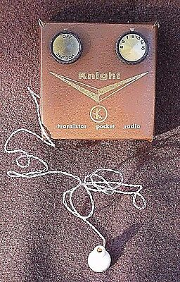 Early Vintage Knight-Kit 2-Transistor Radio Model 820025? - Allied Radio Chicago