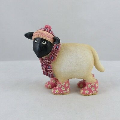 Border Fine Arts - Ewe and Me by Toni Goffe - Sheep Wearing Hat, Scarf & Boots