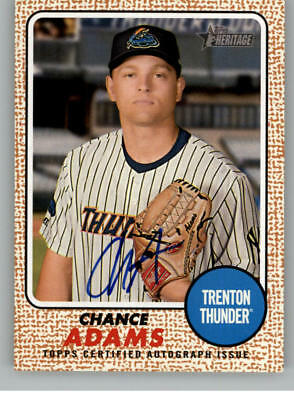 2017 Topps Heritage Minor League Real One Autographs Pick From List