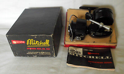 # s MATCH GARCIA MITCHELL 300 SPINNING REEL & BOX NICE 1960