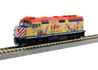 Kato 106-0035 N Scale 2015 Operation North Pole Christmas Train Starter Set