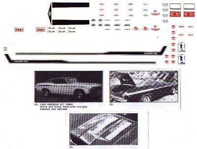 Fred Cady Decal #20 To Do The 1969 Chevelle Yenko 427