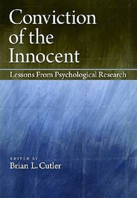 NEW Conviction Of The Innocent BOOK (Hardback) Free P&H