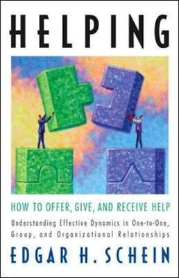 NEW Helping: How To Offer, Give, And Receive Help by Edgar... BOOK (Paperback)