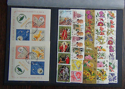 Burundi 1976 Flowers 1965 Co-op M/S x 2 1969 Easter set Fine Used