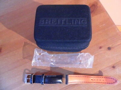 Breitling Superocean 42Mm Leather Strap And New Breitling Travel Case