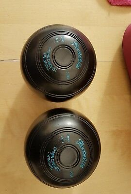 Henselite Crown Conquest 2-08 High Density Twinring Green Bowls 2 Full Bias