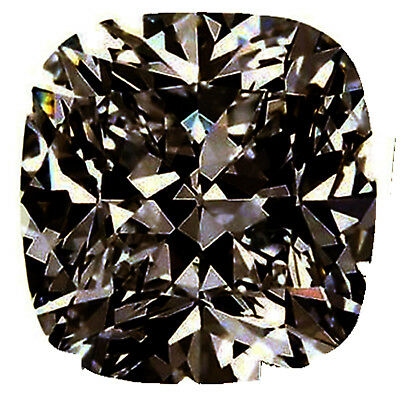3.52 ct VVS1/WHITE CHOCOLATE BROWN LOOSE CUSHION REAL MOISSANITE FOR RING