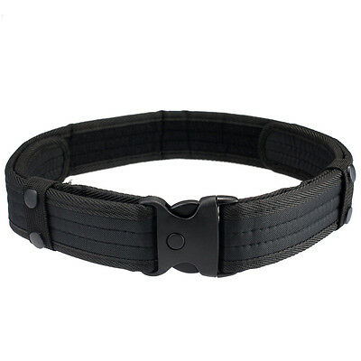 New Woodland Camo Waistband Tactical Hunting Outdoor Sports Field Black Belt  1