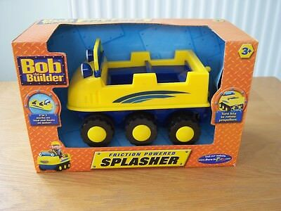 Bob The Builder Friction Powered Splasher New In Box